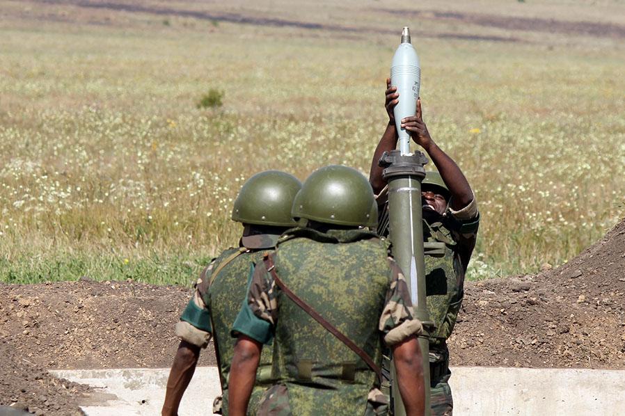 """Соревнования артиллеристов на """"Армейских играх"""""""
