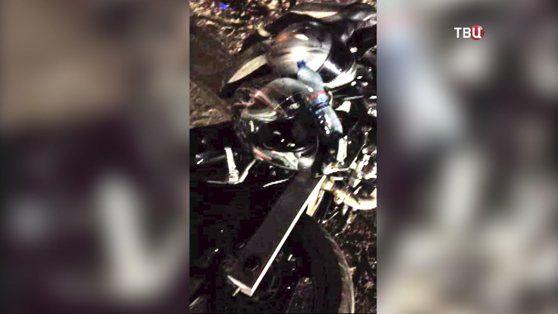 Последствия ДТП с участием мотоциклиста