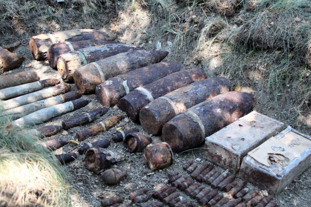 Снаряды времён ВОВ