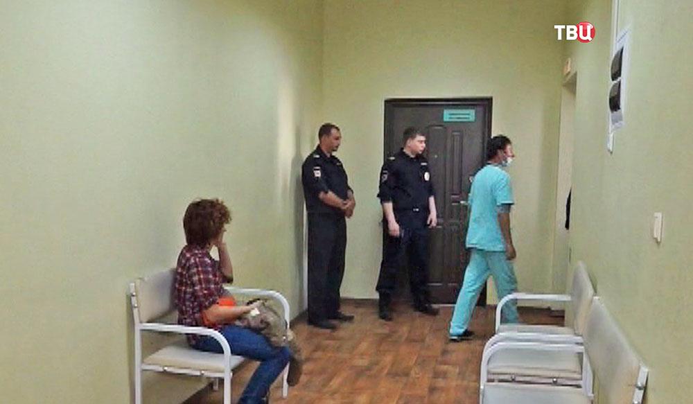 Следственные действия в Магаданской областной больницы