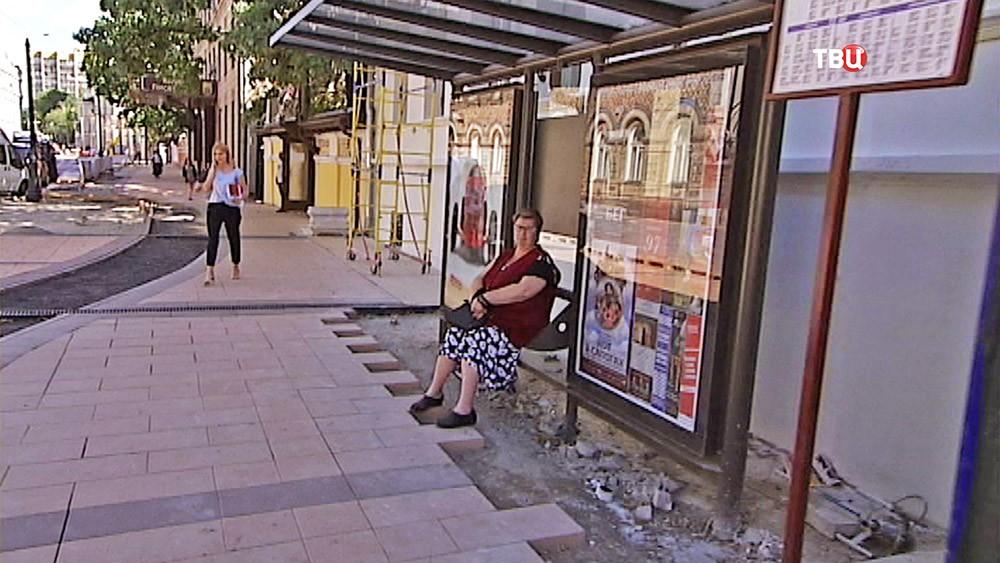 Пешеходная зона на Малой Никицкой улице