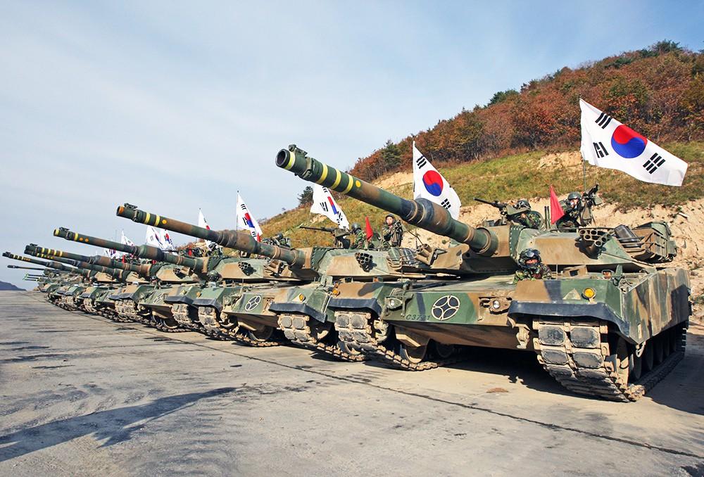 Танковые войска Южной Кореи