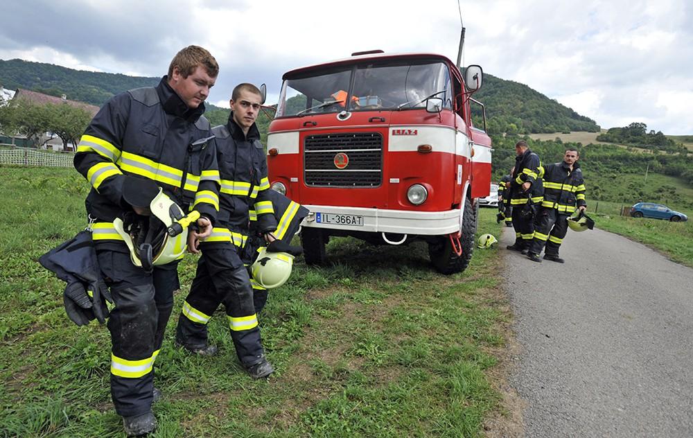 Спасатели Словакии на месте происшествия