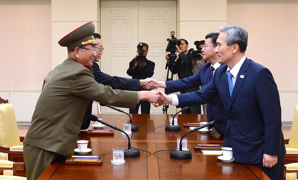 Переговоры Северной и Южной Кореи