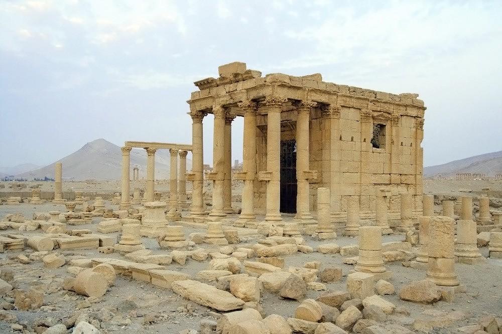 Храм Баал-Шамина в сирийском городе Пальмира
