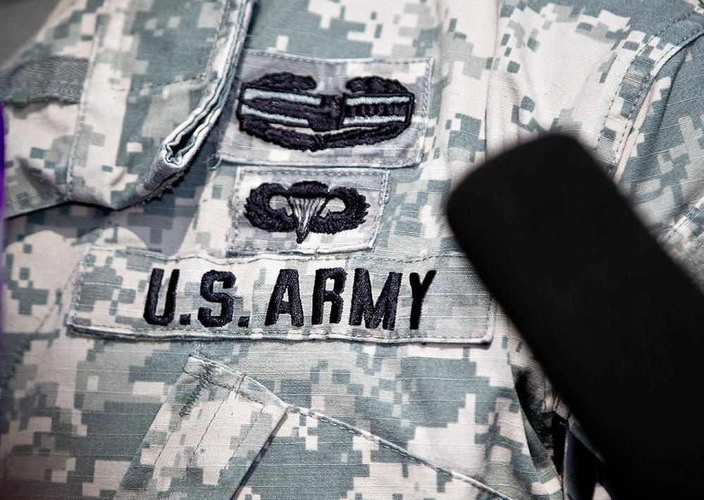 Нашивка ВВС армии США