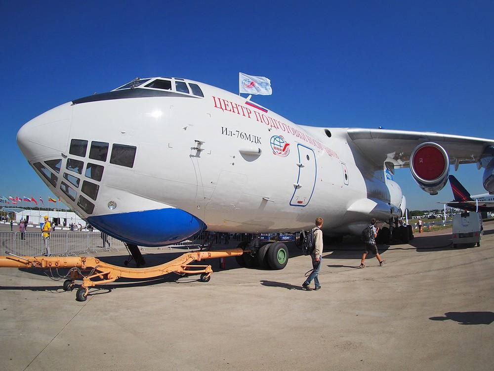 Самолет-лаборатория Ил-76 Центра подготовки космонавтов