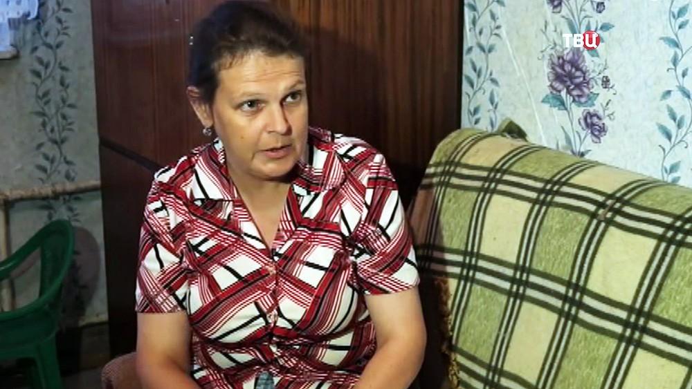 Елена Коробова, мать изъятых детей