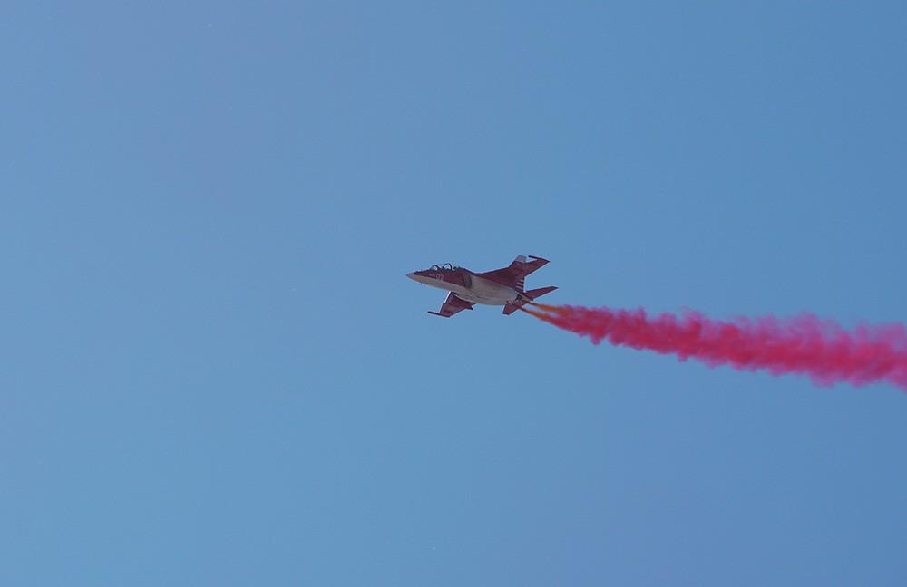 Як-130 на авиасалоне МАКС-2015