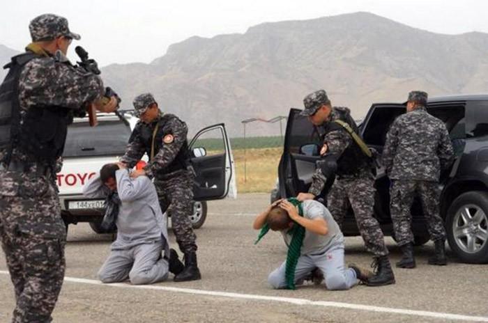 Международные учения по противодействию наркотрафику