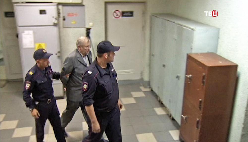 Экс-депутат Госдумы Михаил Глущенко в суде