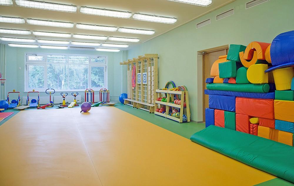 Спортивный зал в детском саду