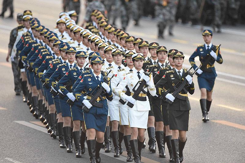 Парад в Китае