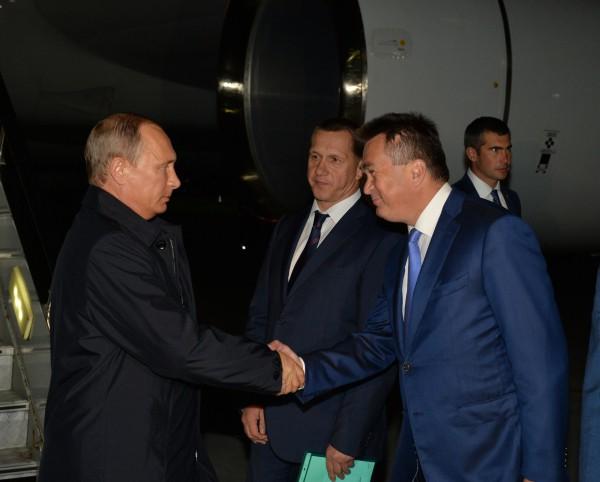 Президент РФ Владимир Путин прибыл во Владивосток