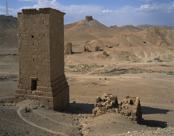 Древние усыпальницы в Пальмире