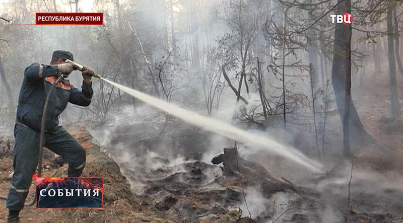 Пожар в Бурятии