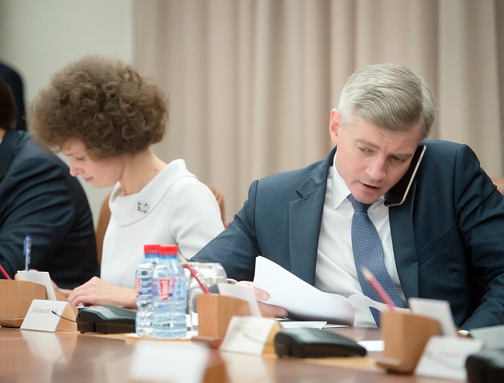 Министр Правительства Москвы, руководитель Департамента культуры города Москвы Алексей Кибовский