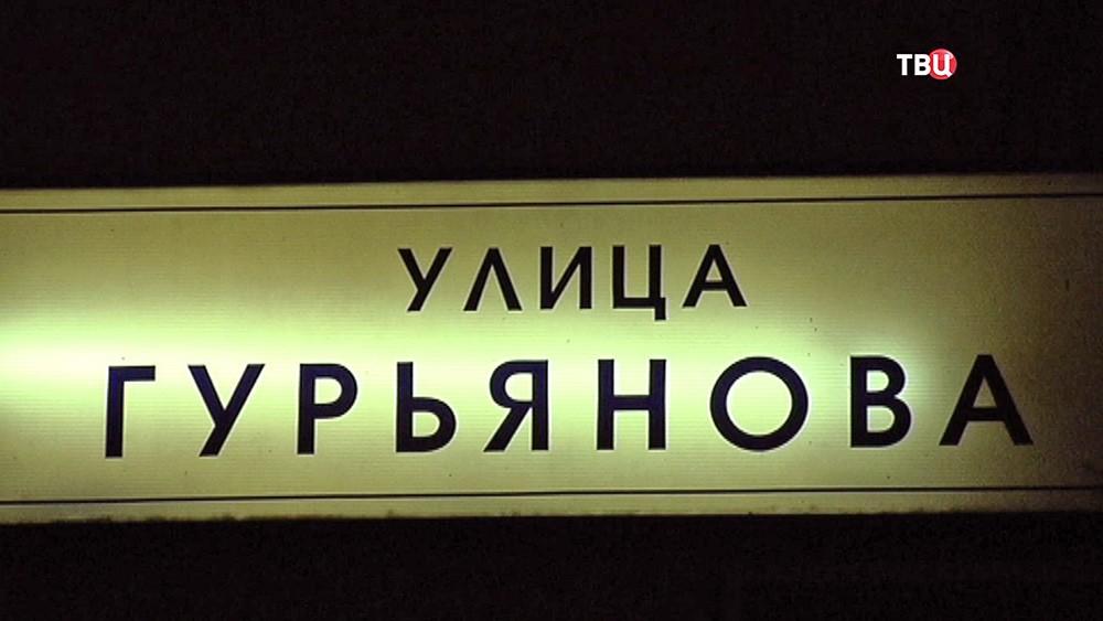 Улица Гурьянова