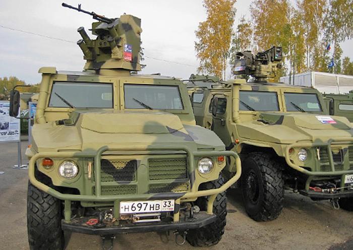 Выставка военной техники в Нижнем Тагиле