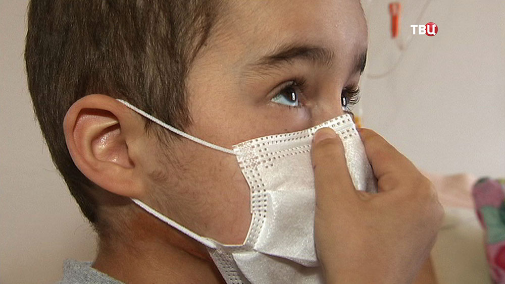 Семилетний Максим в больнице