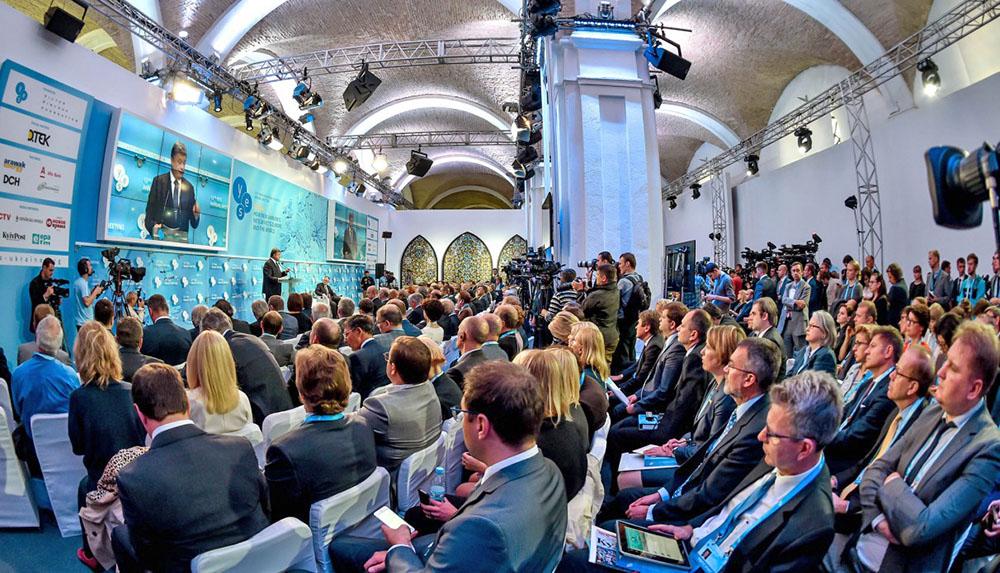 Выступление Петра Порошенко на встрече Ялтинской Европейской Стратегии в Киеве