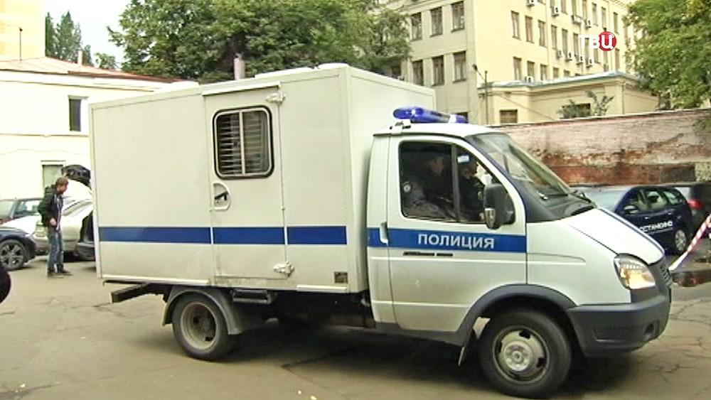 Автомобиль ФСИН