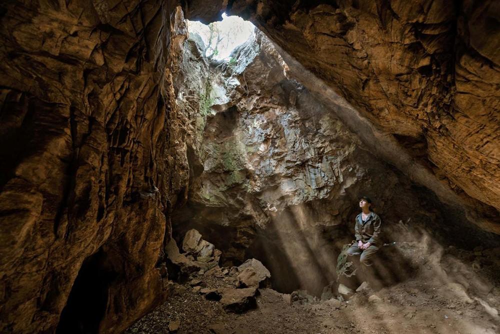 Палеонтологи на месте находки останков Homo naledi