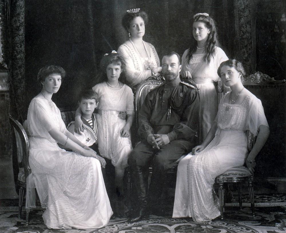 Фото семьи Николая II