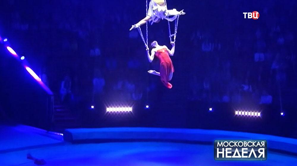 Выступление гимнастки Ксении Елкиной