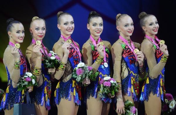 Гимнастки сборной России