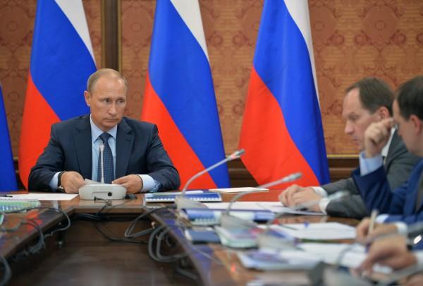 Президент России Владимир Путин проводит в Магасе совещание по вопросам социально-экономического развития Ингушети