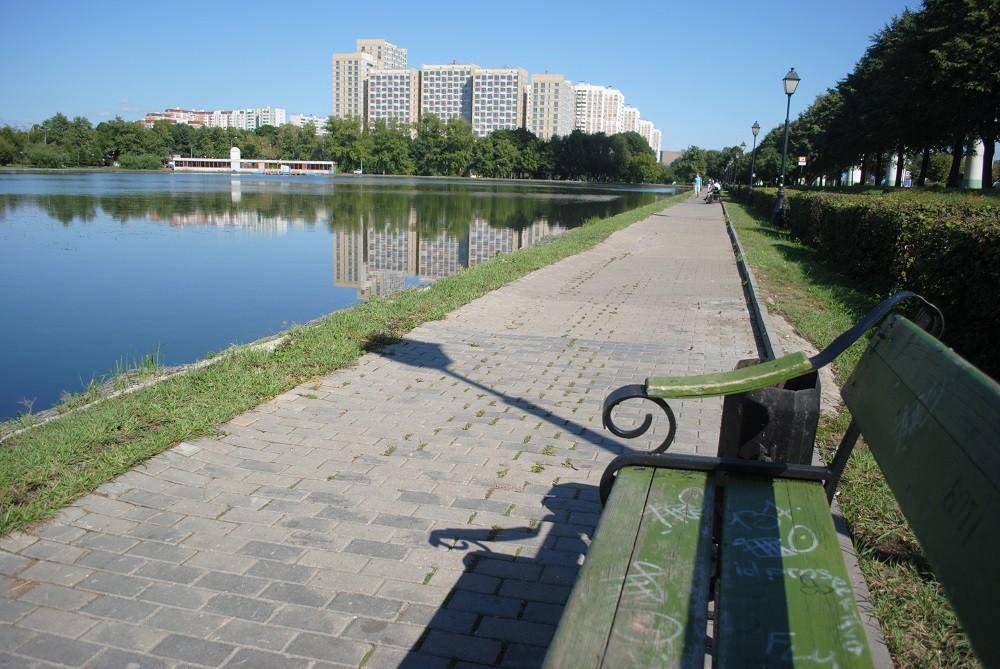 Останкинский пруд. 2012 год