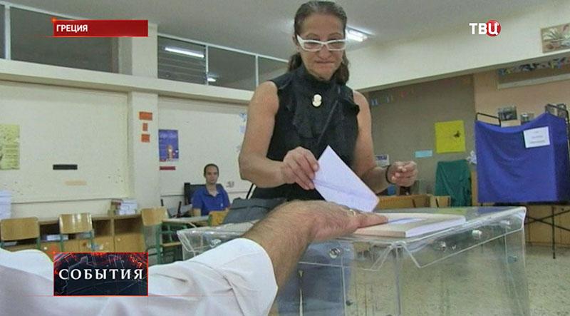 Досрочные парламентские выборы в Греции