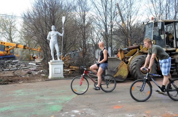 Парк культуры им. Горького. 2011 год
