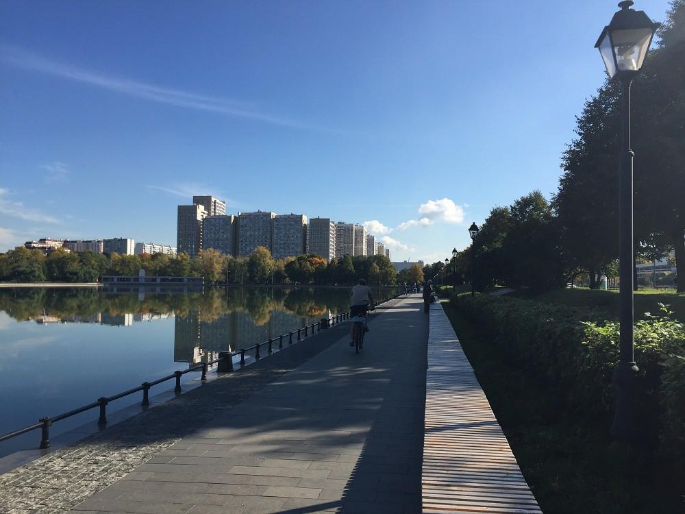 Останкинский пруд. 2015 год