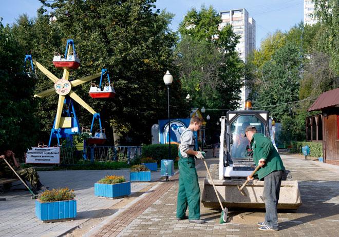 """Парк """"Северное Тушино"""". 2011 год"""