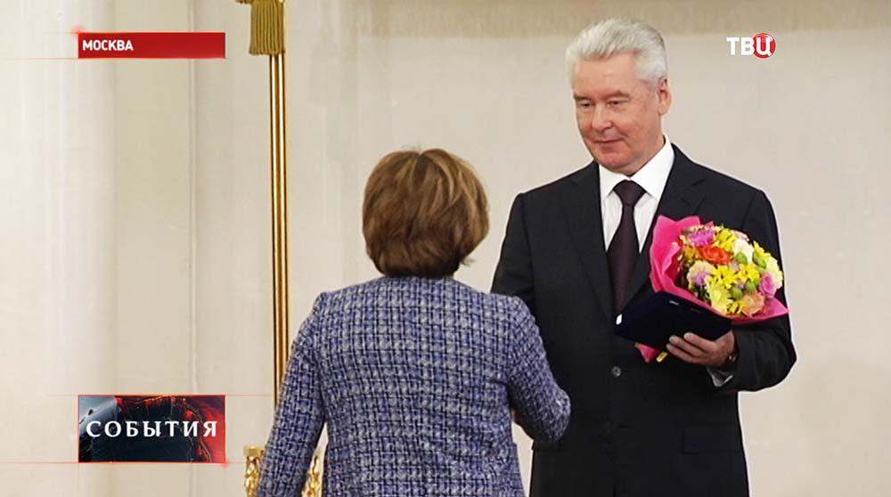 Собянин вручил государственные награды выдающимся москвичам