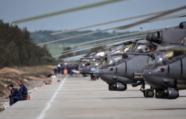 Вертолеты Ми-35