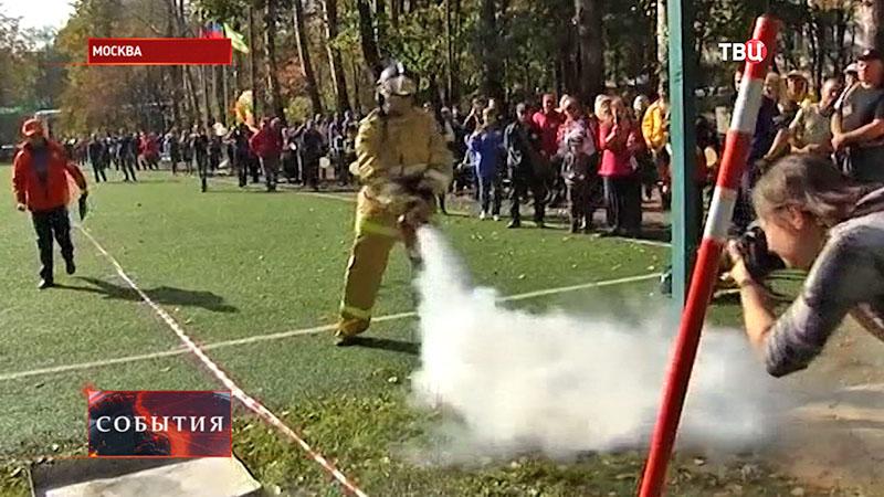 Соревнования спасателей-внештатников