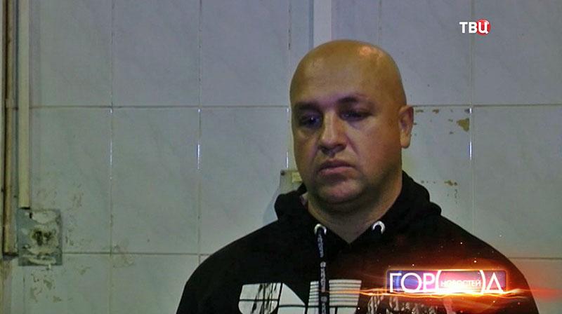 Задержанный наркоторговец