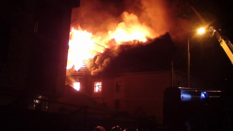 Пожар в кафе Ростова-на-Дону