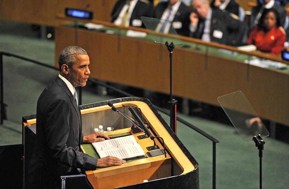 Барак Обама на Генассамблее ООН