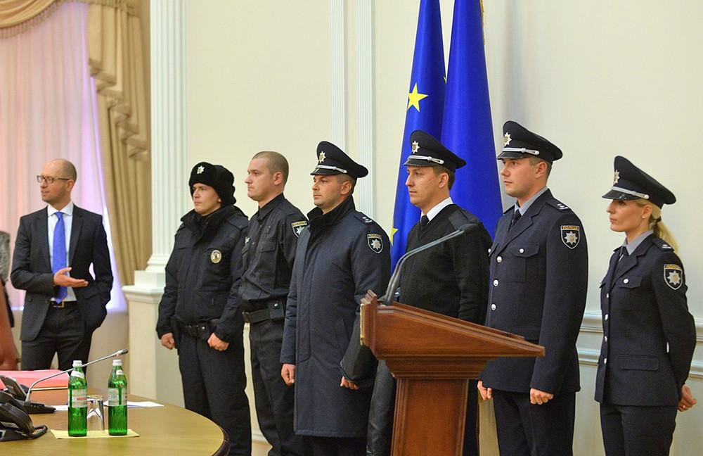 Новая форма украинской полиции