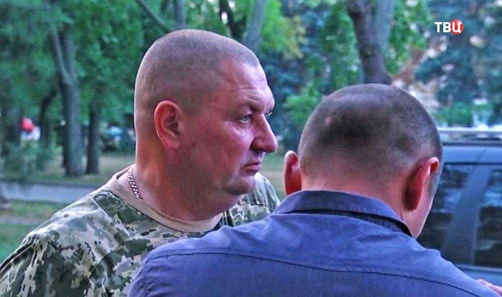 Задержание в пьяном виде полковника и генерала украинской армии