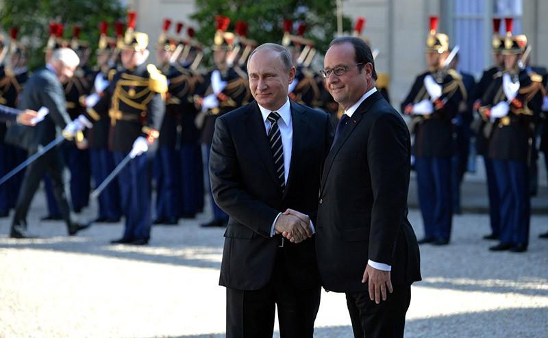 Встреча с Президентом Франции Франсуа Олландом