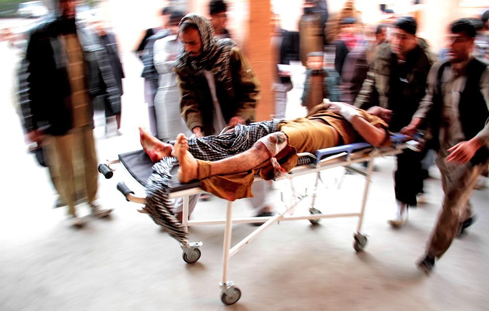Пострадавший в больнице в Афганистане