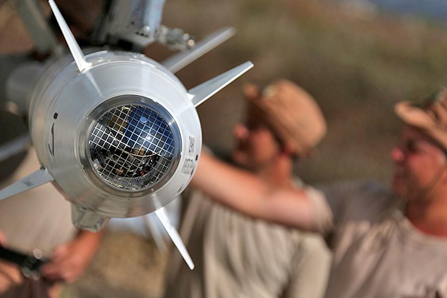 Боевое оснащение авиационной группировки ВКС России в Сирии