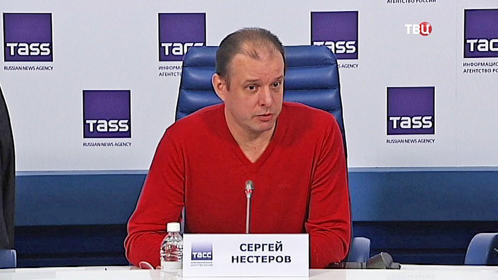 Дрессировщик Сергей Нестеров