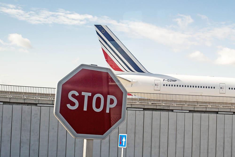 Самолет авиакомпании Air France