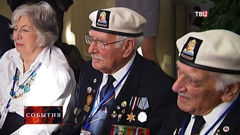 Британские ветераны прибыли в Крым